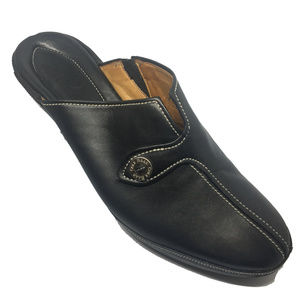Cole Haan Black Leather Mule Model #D15242